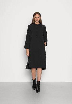 NOGALF LONG DRESS WOMAN - Skjortklänning - black