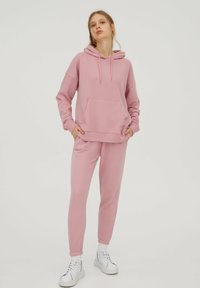 PULL&BEAR - Trainingsbroek - mottled pink - 1