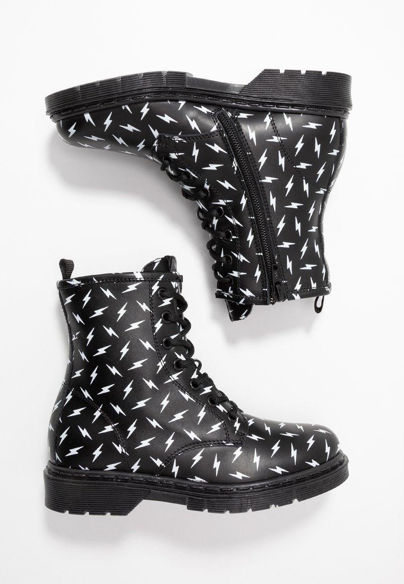 shoeb76 - Šněrovací kotníkové boty - black