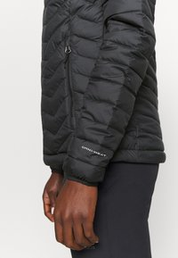 Columbia - POWDER LITE HOODED JACKET - Winterjacke - black - 6