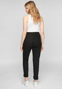 QS by s.Oliver - REGULAR FIT - Trousers - black - 2