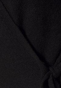 YAS - YASISABEL CARDIGAN - Cardigan - black - 2