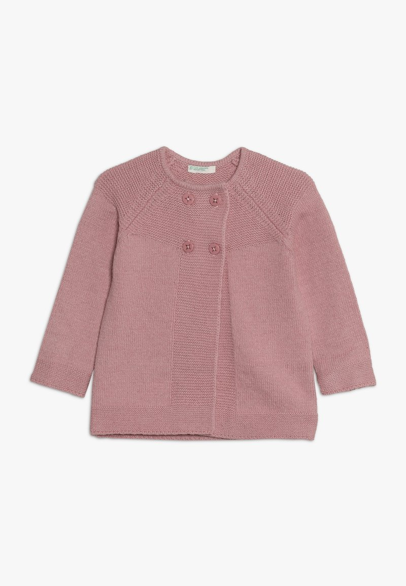 Benetton - Strikjakke /Cardigans - light pink