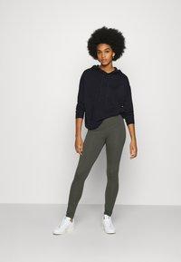 Monki - MEI - Leggings - Trousers - grey dark - 1