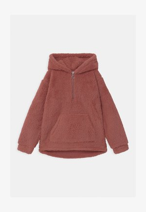 TEEN PILE HOODIE PEACH - Forro polar - dark dusty pink