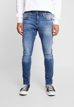 REVEND SKINNY - Džíny Slim Fit - medium indigo
