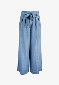 Oliver Bonas - CHAMBRAY  - Trousers - blue - 3