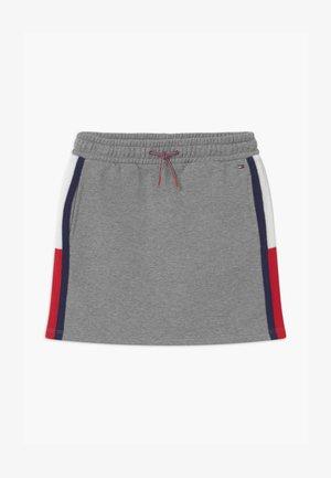 INSERT  - Mini skirt - grey