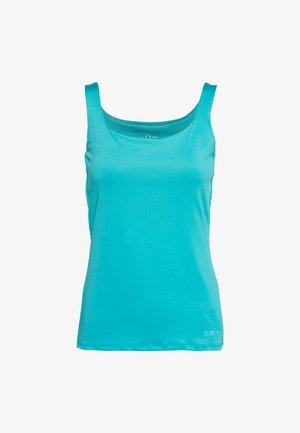 WOMAN DOUBLE - Sports shirt - ceramic