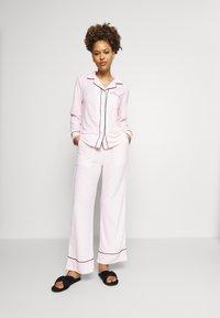 Missguided - TOWEL SHIRT LONG - Pyjamas - pink - 0