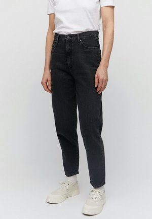 MAIRAA - Straight leg jeans - washed down black