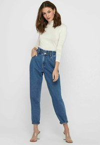 ONLY - Relaxed fit jeans - medium blue denim - 1