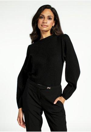 ILZA - Trousers - black