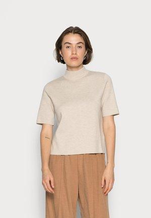 ODRALF WOMAN - T-shirt basic - linen melange