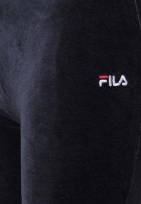 Fila Petite - BIAN CROPPED PANT - Trousers - black iris - 4