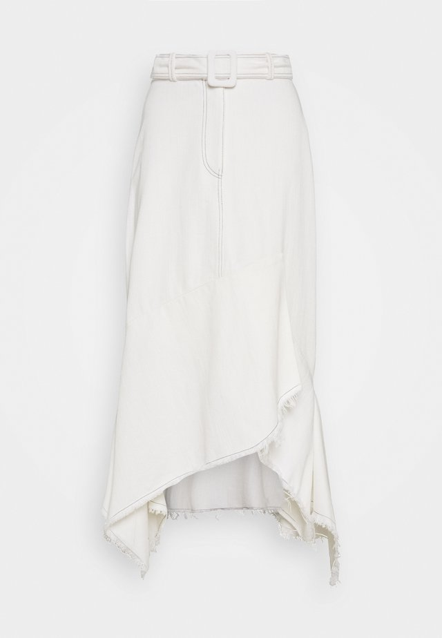 RARA - A-line skirt - white