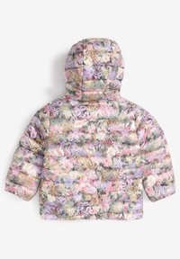 Next - SHOWER RESISTANT FLORAL PADDED  - Winter jacket - lilac - 1