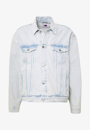 UNISEX LEWIS HAMILTON BLEACHED TRUCKER JACKET - Denim jacket - denim