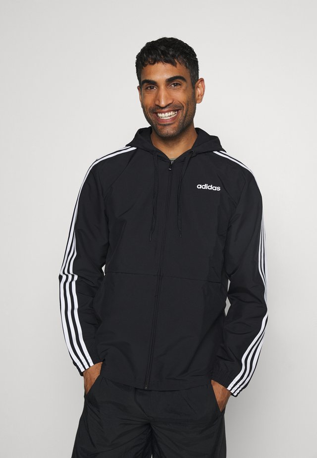 ESSENTIALS SPORTS JACKET - Kurtka sportowa - black/white