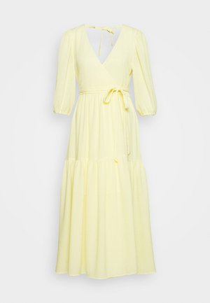 SARA DRESS - Kjole - light yellow