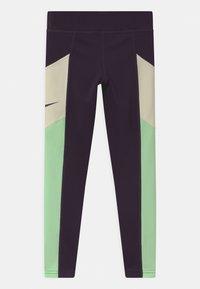 Nike Performance - TROPHY - Leggings - grand purple/vapor green/coconut milk - 1