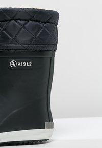 Aigle - GIBOULEE - Stivali di gomma - marine/blanc - 5