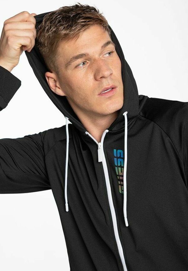 Guess Bluza rozpinana - black/czarny Odzież Męska CJRI