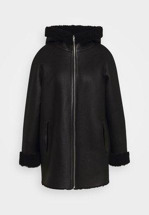 Winter coat - noir