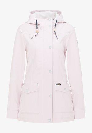 Outdoor jacket - hellrosa