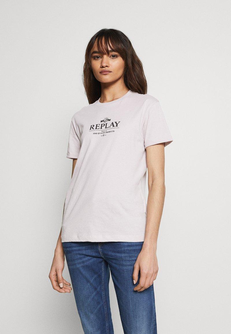 Replay - Print T-shirt - quartz rose