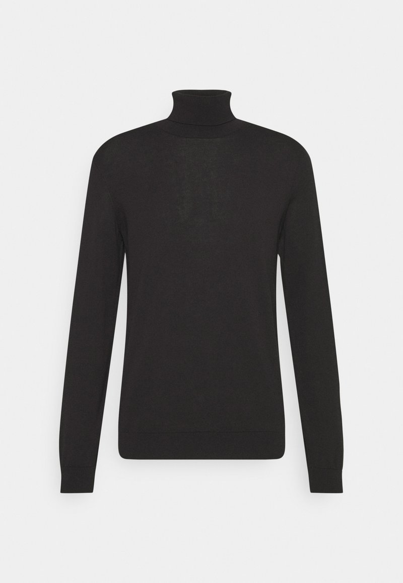 Marc O'Polo DENIM - LONG SLEEVE AND ROLL NECK - Strickpullover - black