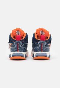 Geox - INEK BOY - High-top trainers - navy/orange - 2