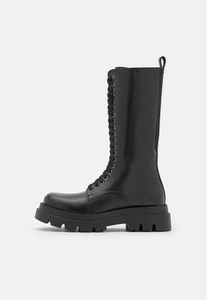ANFIBIO STRINGATO - Lace-up boots - nero