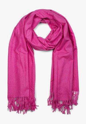 UNIQUE WINTER STOLE - Scarf - pink