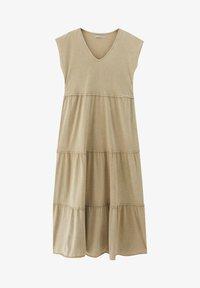PULL&BEAR - Denní šaty - mottled beige - 4