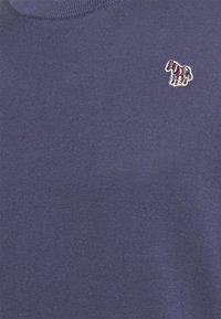 PS Paul Smith - MENS CREW NECK ZEBRA - Jumper - grey/dark blue - 2
