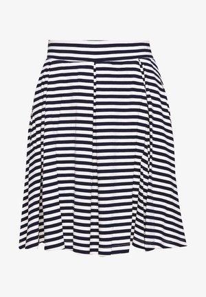A-linjekjol - dark blue/white