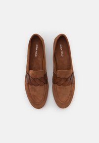 Anna Field - LEATHER - Slippers - cognac - 5