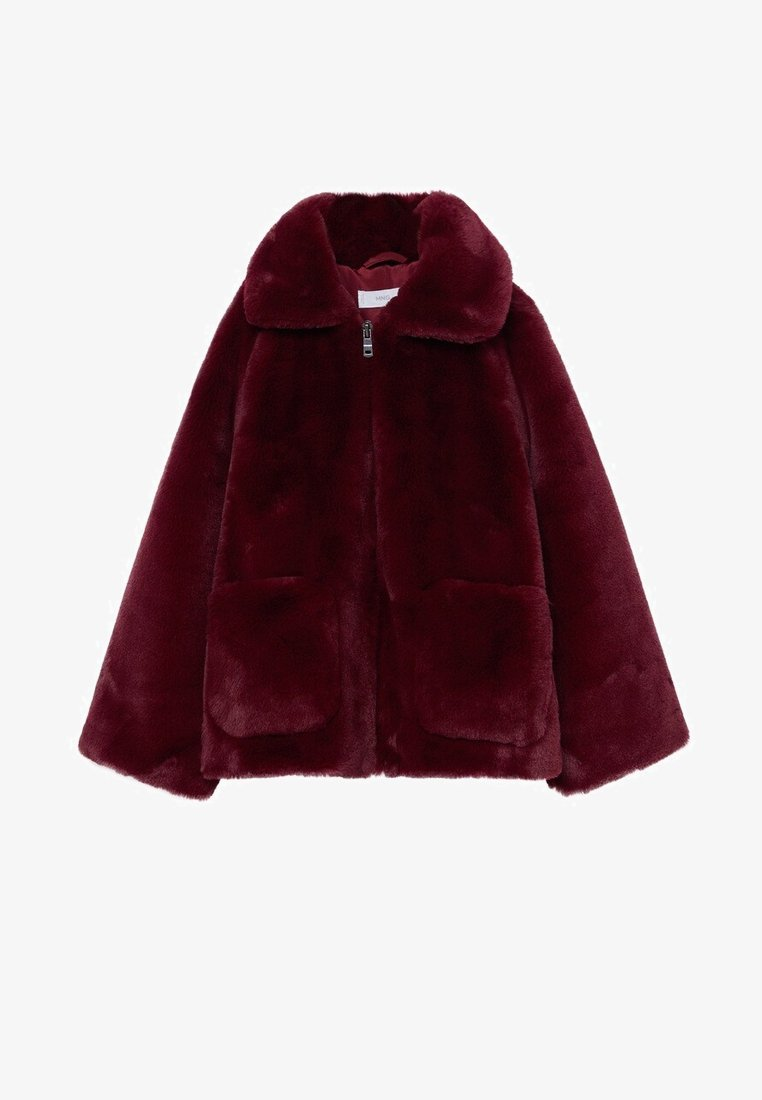 Mango - BOLITA7 - Winter jacket - bordeaux