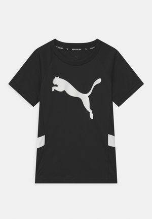 ACTIVE SPORTS CAT UNISEX - Print T-shirt - black