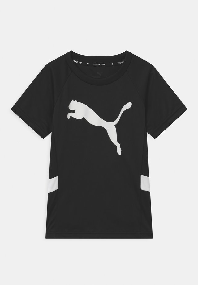 ACTIVE SPORTS CAT UNISEX - T-Shirt print - black