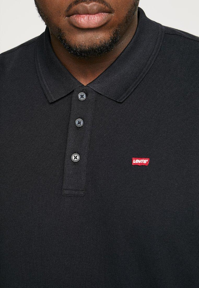 Najwyżej oceniane Gorąca wyprzedaż Levi's® Plus Koszulka polo - mineral black | Odzież męska 2020 QKwgf