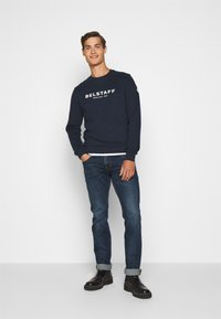 Belstaff - Sweatshirt - navy/offwhite - 1