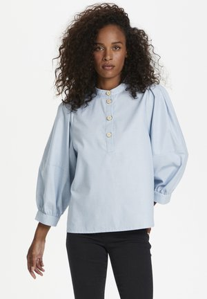 Blouse - celestial blue