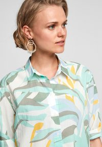 s.Oliver - Overhemdblouse - turquoise aop - 3