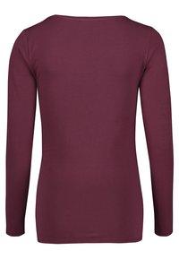 Esprit Maternity - Long sleeved top - garnet red - 1