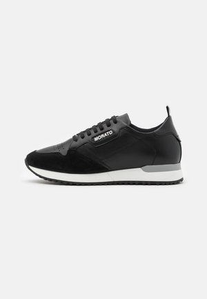 RUN CREWEL - Sneakers laag - black