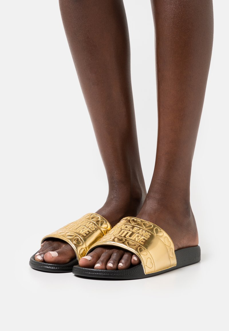 Versace Jeans Couture - Mules - gold