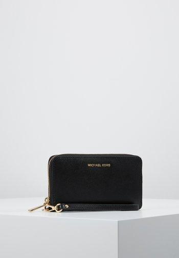 JET SET FLAT CASE CROSSGRAIN  - Wallet - black