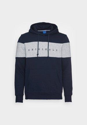 JORCOPENHAGEN BLOCK HOOD - Sweater - navy blazer